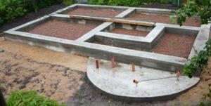 Фундамент под коттедж