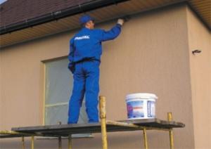 Краска для фасада