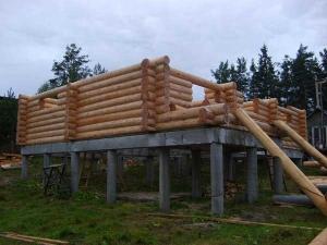 Строительство домов из бревен: возможные ошибки
