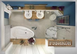 Целесообразность совмещения ванной комнаты с туалетом